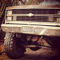 Chevy- looks like my mans truck!! I love a chevy