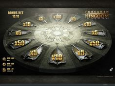 Forsaken Kingdom video slot is available to play at Wintingo online casino All Games, Games To Play, Video Poker, Up For The Challenge, Online Casino Games, Slot Machine, Arcade Machine