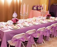 Sofia the 1st Tea Party birthday. Great idea to have tiaras for the girls and swords for the boys as favors!!