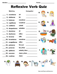 Spanish Reflexive Verbs VALUE PACK BUNDLE from Spanish the easy way! on TeachersNotebook.com (128 pages)