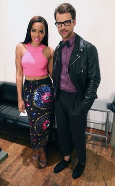 Our two guest panelists Angela Simmons and Brad Goreski get together before dishing on today's hottest trends