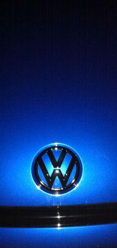Blue VW Logo