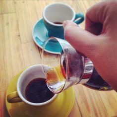 good morning with kono coffee v60