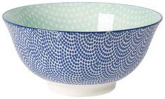 Now Designs Waves/Aqua Stamped Bowls