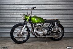 Honda CB 450 Bobber By Dirty Seven