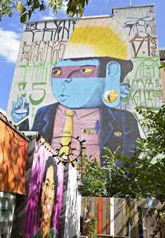 Cranio mural Holzmarkt #berlin #streetart be kitschig blog