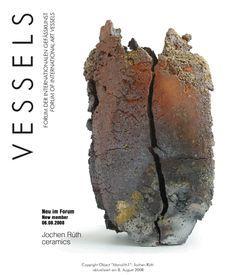 VESSELS 60 – Neu im Forum – Jochen Rüth, ceramic artist | Espaces Arts & Objets