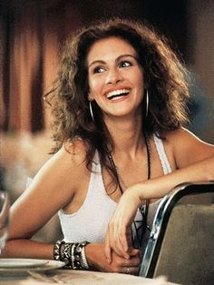 JULIA ROBERTS!  <3 - Click image to find more People Pinterest pins