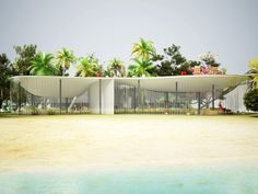 NL architects: pool home proposals in florida