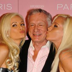 are hugh hefner and holly still dating