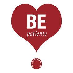 Be Patiente www.be-different.com Dares, Flexibility, Presents, Positivity, Joy, Logos, Simple, Unique, Creative