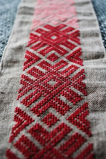 Embroidery Statin Stitch viking handcraft: Slavic and Baltic embroidery Medieval Embroidery, Folk Embroidery, Embroidery Needles, Cross Stitch Embroidery, Embroidery Patterns, Cross Stitch Patterns, Sewing Patterns, Indian Embroidery, Embroidery For Beginners