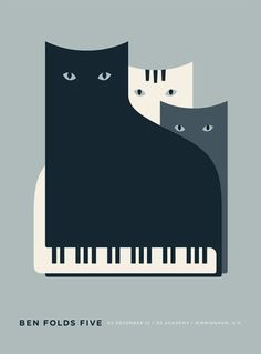Black cats design