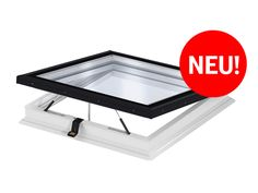 VELUX Flachdachfenster mit Flachglas - Licht und Belüftung für Flachdachgebäude