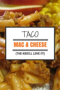 This Taco Mac & Cheese makes a fabulous weekend meal, or a great dish for a potluck or party.