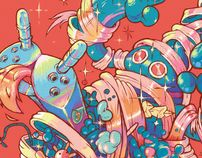 POSTERS & PERSONAJES by Gastón Pacheco, via Behance