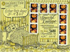 Debbie Thompson Wilson. Honorable mention, Graceful Envelope Contest, 2006. Love the stamp drapery!