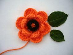 Crochet beaded flower  http://www.etsy.com/shop/CraftsbySigita?ref=si_shop