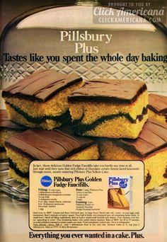 Golden Fudge Fancifills recipe (1979)