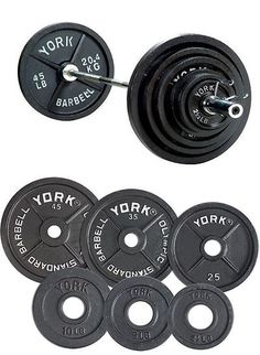 weight sets barbell vinyl weight set 100lb golds gym home equipment adjustable bar lifting u003e buy it now only on ebay