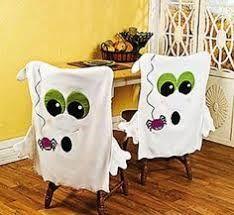 Resultado de imagen para decoracion de sillas para halloween