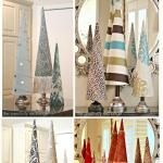 3rd Annual Fabric Covered Christmas Tree Cone Post...