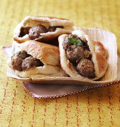 Batbout marocain farci à la kefta de boeuf - #Ramadan - Recettes de cuisine Ôdélices