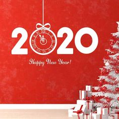 14 of the Best Home Decor Products to Buy for a New Year Front Door Christmas Decorations, Christmas Front Doors, Front Door Decor, Perfect Christmas Gifts, Christmas And New Year, Wall Stickers Murals, Vinyl Decals, Hummer Cars, Tv Walls