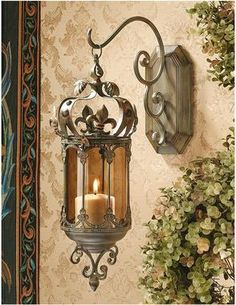 Crown Royale Hanging Pendant Lantern - Medieval Home Decor - Medieval & Gothic - Design Toscano on Wanelo - great idea for hanging the Middle Eastern lanterns, too Lantern Set, Wall Lantern, Lantern Pendant, Lantern Image, Candle Lanterns, Candle Sconces, Wall Sconces, Candle Lamp, Style Toscan