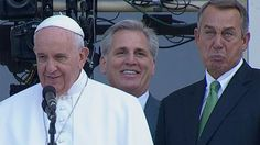 The pope brought out John Boehner's best cry face -     Speaker John Boehner literally could not contain himself as  Pope Francis spoke to the masses from the U.S. Capitol balcony Thursday afternoon.