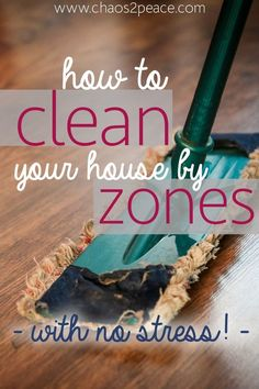 Do you need a plan for cleaning your house month by month? Are you overwhelmed with your entire house. Chaos2Peace has a simple plan to clean your entire house.