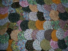 """Yoyos, 100 Handmade 2"""" Cotton Fabric, Tiny Calico Prints, Ornaments, Hair Accessories, Home Decor, Pillows, Scrapbooks, Quilts by YoyosAndMoreByJill on Etsy"""