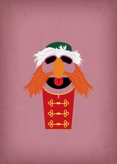 Floyd Pepper. One of my favourite Muppets.