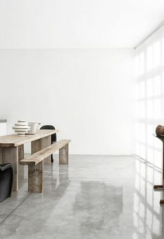 leroy merlin beton ciré gris clair dans la salle de séjour moderne