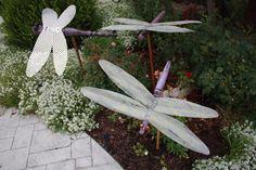 rustic garden art - Google Search