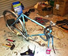 Restore an old bike.