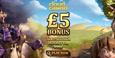 Cloud Casino – Exclusive £5 Free Chip on Jack and the Beanstalk  (UK only)