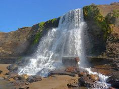 Alamere Falls - Pt. Reyes National Seashore, Bolinas, California