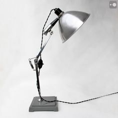 Early English Medical Examination Lamp, manufactured by Mottershead of Manchester 1910 -1920.
