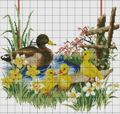 Discover (and save! Cross Stitch Kitchen, Cross Stitch Bird, Beaded Cross Stitch, Cross Stitch Animals, Cross Stitch Flowers, Cross Stitch Charts, Cross Stitch Designs, Cross Stitching, Cross Stitch Embroidery