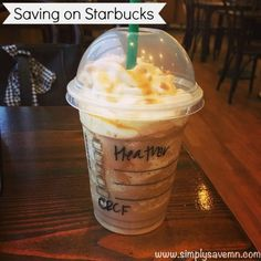 Saving on Starbucks: How I Went A Year Without Paying Out of Pocket