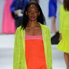 ramp-vogue:    neon fashion trends here xx