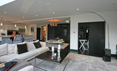 #Living, #Room, #Modern #Architecture Modern Architecture, Living Rooms, Oversized Mirror, Lounge, Doors, Furniture, Home Decor, Interior Design, Lounges