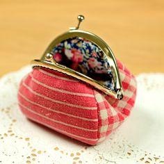 Coin Purse ♥ Sewing Kit Craft Set ♥ Pattern Fabric Instruction Cotton Bag Making…