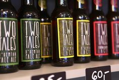 Two Tales Bohemian Lager, Pale Ale, and Grapefruit Lager for sale at Delirium Gourmet Boutique.  www.twotales.cz www.facebook.com/twotalesbeer www.facebook.com/deliriumGB
