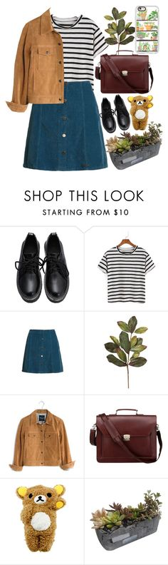 """(^ ^)"" by ainaza on Polyvore featuring мода, Superdry, Madewell, ROTD Creations и Casetify"