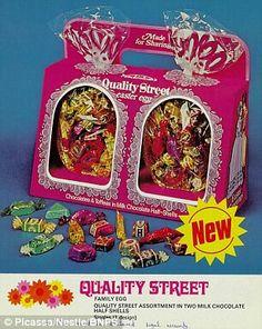 Retro Quality Street easter egg