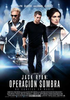 Cartel Español de Jack Ryan: Operación Sombra
