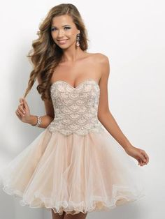 Pink by Blush Prom Short Prom Dress - Style 9650