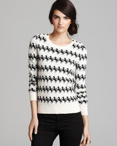 FRENCH CONNECTION Sweater - Horse Knit | Bloomingdale's